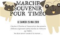 Marche souvenir pour Timeo