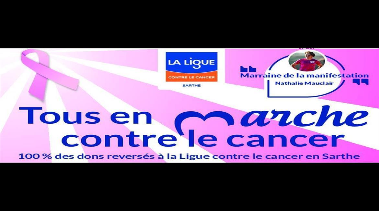 Marche contre le cancer Samedi 17 octobre 2020