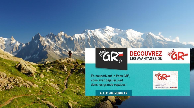 ITINÉRANCE : Le Pass GR® du randonneur itinérant